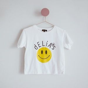Delias Smiley Face Baby Tee